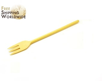 Wooden Forks for turning Steaks and all kinds of Meat on the Grill / Barbeque from Beech wood - 37