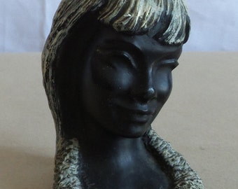 Frank Schirman Momi Carved Bust