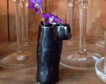 petite wildflower vase with spout
