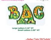 Applique Alphabet Ver 20 Machine Embroidery Designs BX Format Monogram Font Digital Download