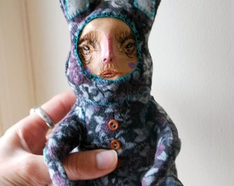 Offbeat Orphan Bunny Line; Celeste MADE TO ORDER