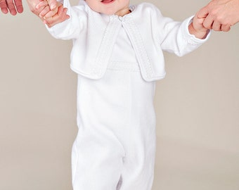 Lucas Christening Baptism or Blessing Outfit for Boys