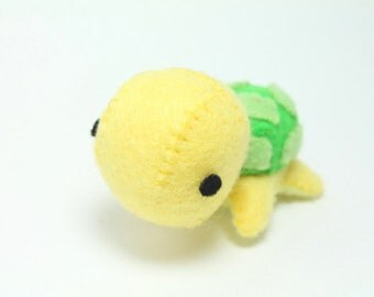 PDF Pattern - Felt Turtle Plush