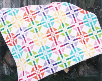 Quilt Pattern - ''Island Girl'' Quilt Paper Sewing Pattern by Fresh Lemons