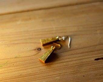 Egyptian - gold earrings