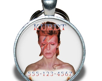 Pet ID Tag - David Bowie *Inspired*