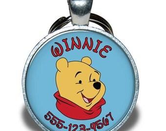 Pet ID Tag - Winnie the Pooh *Inspired*