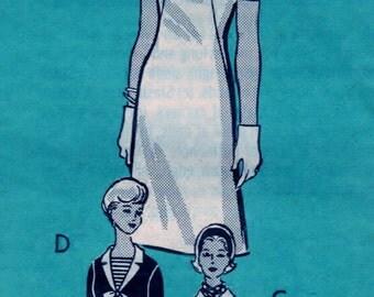 Misses Dress Pattern 9357 CUT Pattern Department Mail Order