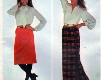 McCall's 7633  Misses' Skirt - Size C (10-12-14)