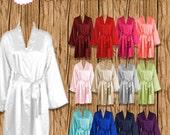Blank Satin Robe, Blank Robe, Fast Shipping, US Seller