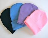 SALE ++ Pastel beanie, pink beanie hat, purple beanie, blue beanie, knit hat, winter, DIY, cap, head wear