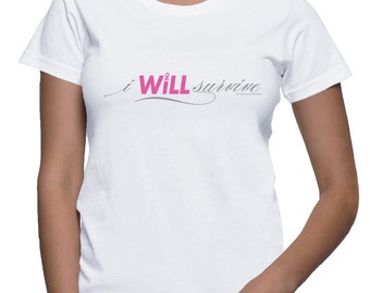 I WILL Survive - Breast Cancer T-shirt