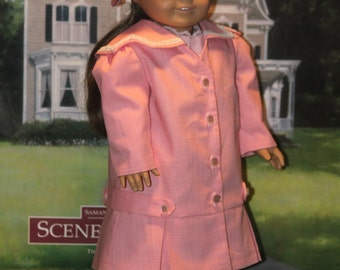 1910's Coat and Beret for 18 inch Dolls like Samantha, Rebecca, Nellie and Others
