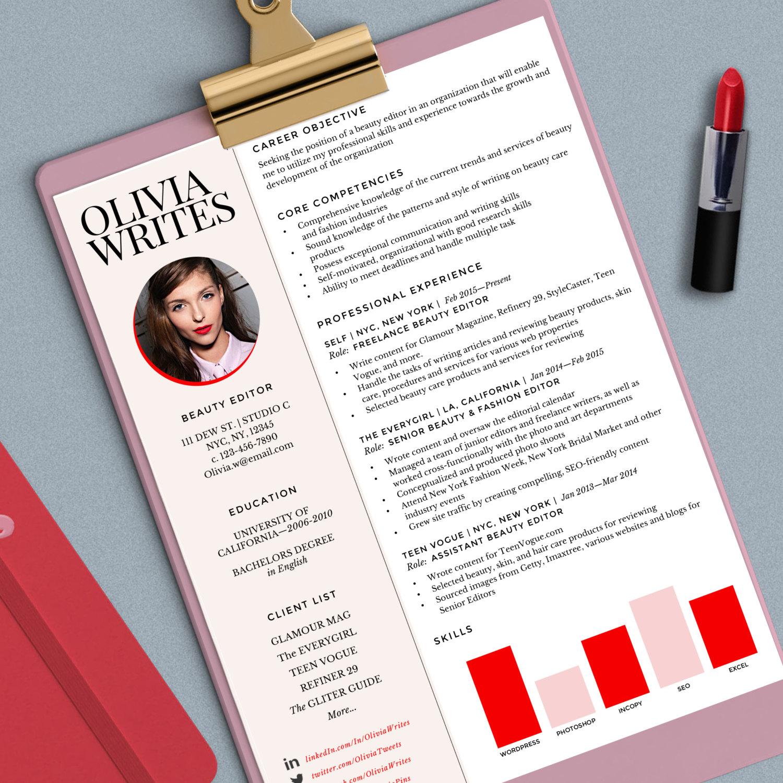custom resume templates