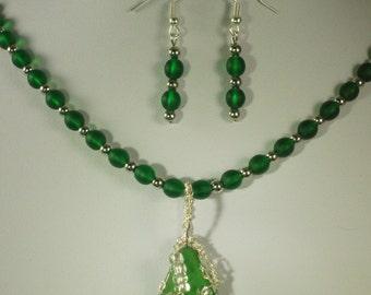 Emerald Sea Glass