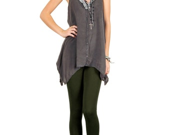Dark Olive Green Leggings