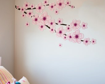 Blossom Branch Fabric Wall Decal