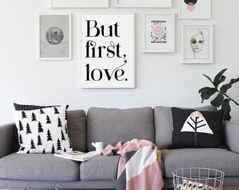 Love Print - But first, love