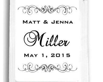 20 Black and White Tea Wedding Favors