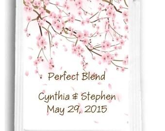 20 Cherry Blossom Tea Favors
