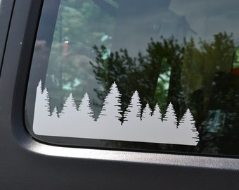 XL Forest Decal, Single Side