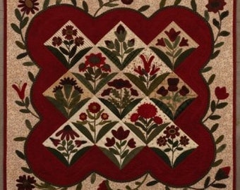 Pattern: Summer Blooms Quilt Primitive Gatherings
