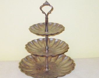 3 Tier Plate Display Stand.