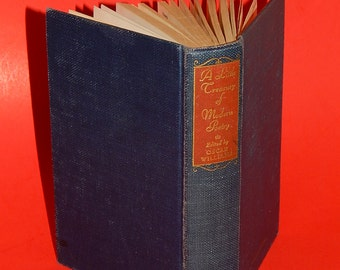 1946 A Little Treasury of Modern Poetry - Oscar Williams College Edition