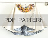 Girl Cape PDF A4, cape pattern, winter coat PDF, girl coat pattern, coat sewing pattern, Criss cross cape, girl coat pdf, cape sewing PDF