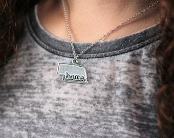 Nebraska Necklace - Home State Apparel Nebraska Home Necklace Charm