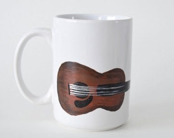 Guitar Coffee Mug - Coffee Mug for Musician - Coffee Mug Gift - Music Coffee Mug Gift - Musician Gift Coffee Mug - Guitar Coffee Mug Gift
