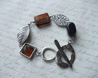 Modern nature bracelet