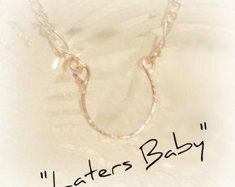 FREE US SHIPPING! Ana's Horseshoe Necklace, Fifty Shades of Grey Inspired Jewelry, Ana Steele Necklace, Dakota Johnson's Necklace, 50 Shades