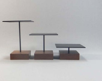 Display Risers, Jewelry Riser, Steel Riser, Wood Riser, Steel Pedestal, Display Pedestal, Wood Pedestal, Jewelry Pedestal 071
