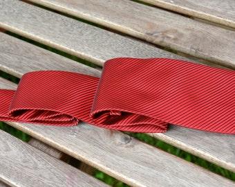 Red Men's Tie