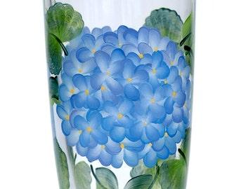 Blue Hydrangeas Tumbler