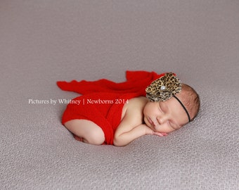 Baby girl leopard bow, cheetah headband for baby girl, leopard headband with bow, animal print baby headband