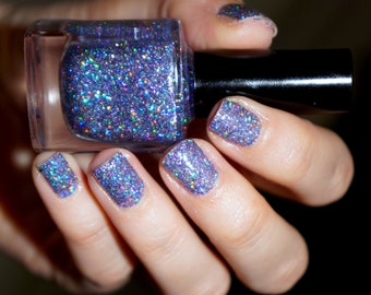 Glitter nail polish - Invincible