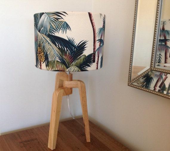 Coastal decor lamp shade beach decor tropical decor barrel lampshade