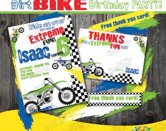 Dirt Bike Birthday Banner Diy Dirt Bike Party Banner