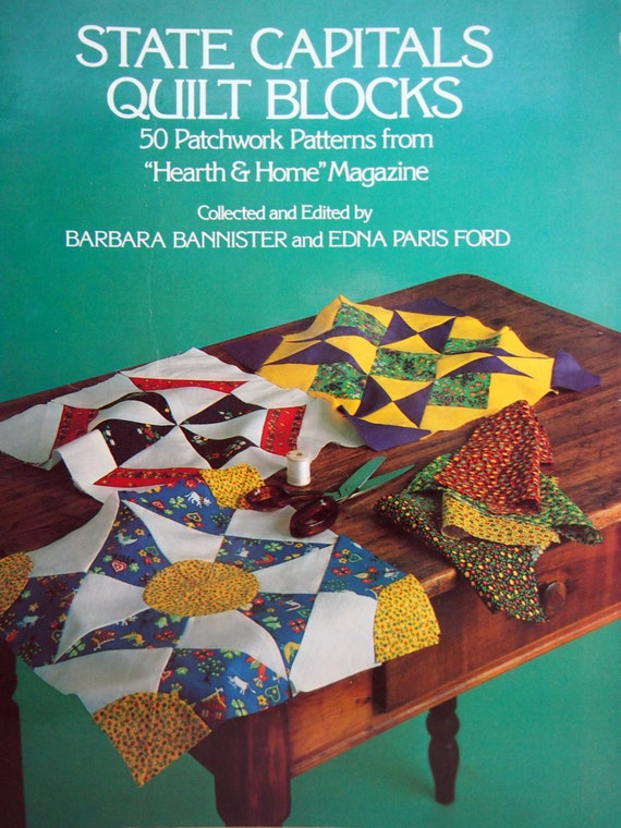 state capitals quilt blocks 50 patchwork patterns from hearth