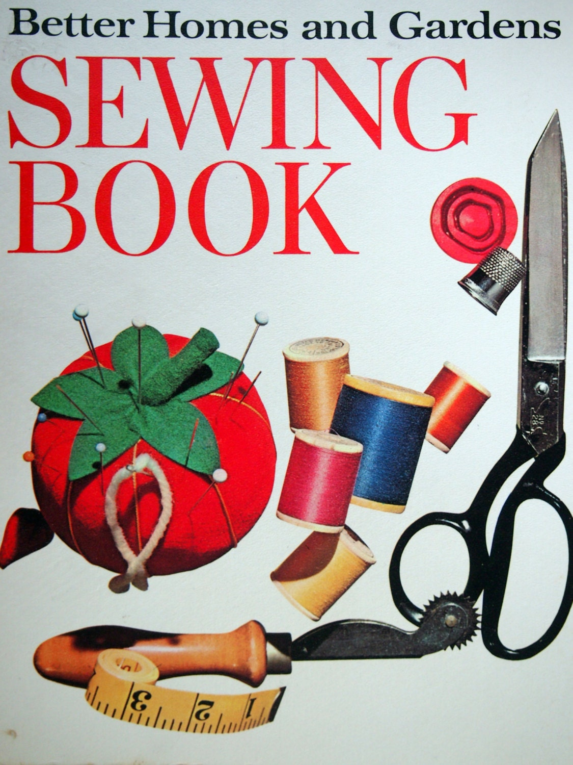 Sewing Book By Better Homes And Gardens Vintage 3 Ring