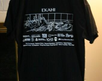 100% Cotton Fits Like A XL Very Rare Highway Inn Hawaiian Food since 1947 Ekahi Great Destination Restaurant Location!