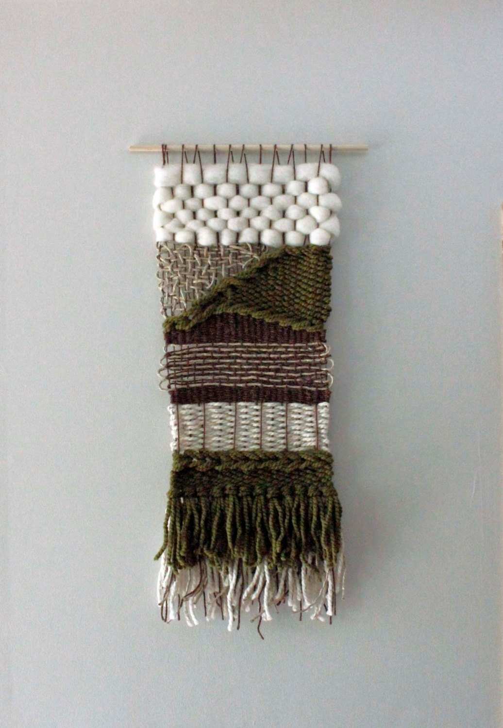 Modern Woven Wall Hanging Woven Wall Art Weaving By Eastparlor