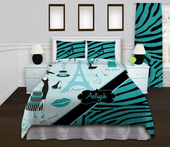 Paris bedding sets eiffel tower themed home by EloquentInnovations