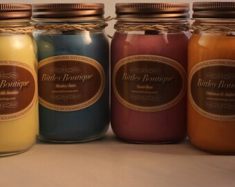 SOY 3 Month Candle of the Month Club! - (Shipping included!!)