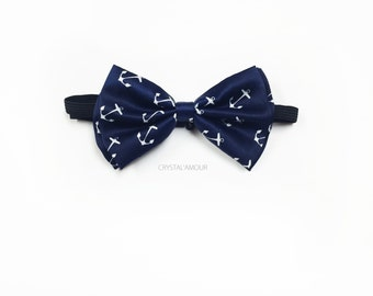 Anchor bowtie, navy blue bow tie, anchor bow, anchor bow tie, nautical wedding, nautical bowtie, nautical fashion, anchor clothing, weddings