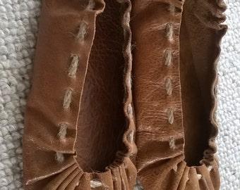 Handmade leather footwear