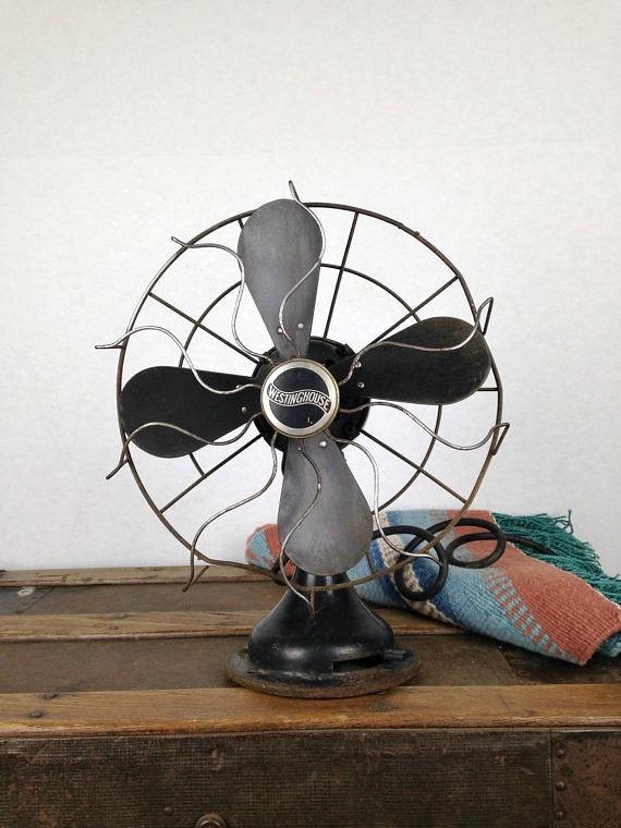 1930s Floor Fan Antique General Electric Vortalex 18