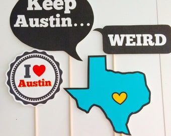 Austin photo props